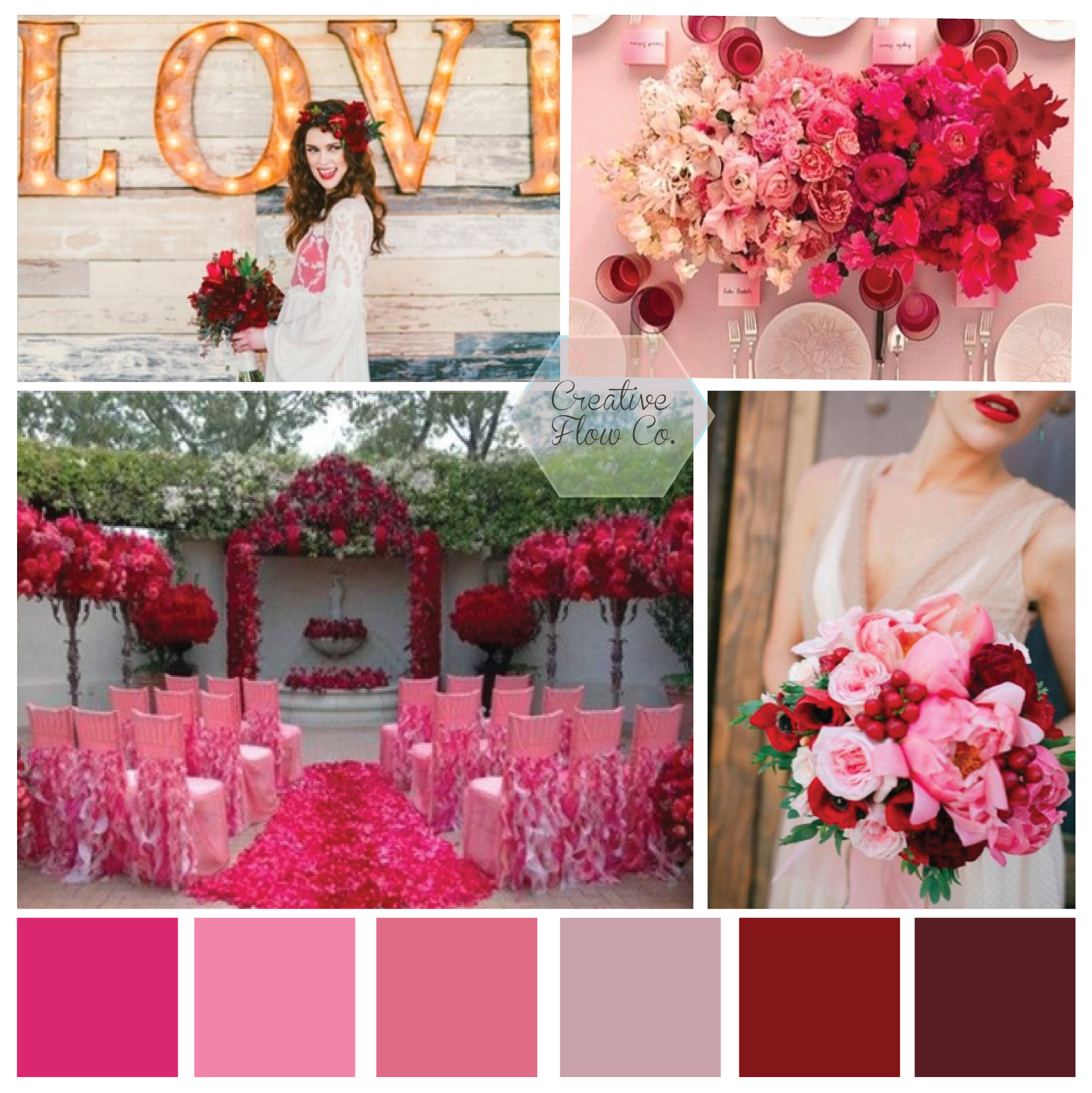 Moodboard Monday Valentine S Day Wedding Inspiration Creative